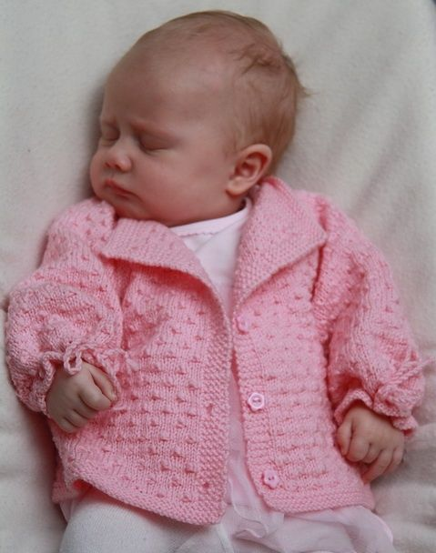 Free Baby Sweater Knitting Patterns : Free baby knitting patterns free knitting pattern baby: What a scrumptious ...