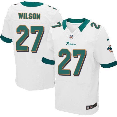 nike elite nfl jersey white mens jimmy wilson jersey miami dolphins 27 jersey sale