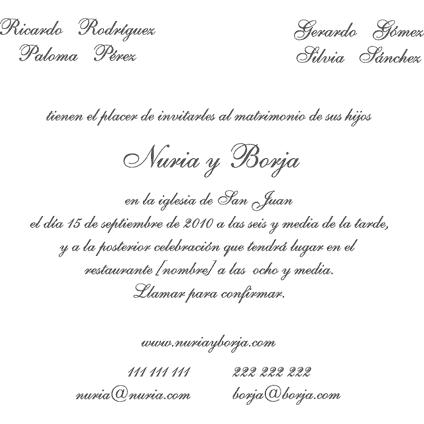 textos para invitaciones de boda cristiana decoraciones para bodas