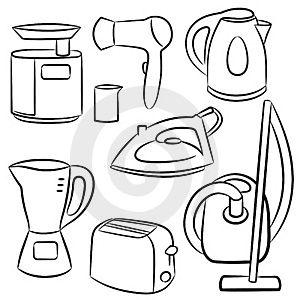 Dibujo Electrodomesticos Buscar Con Google Casa De Munecas De