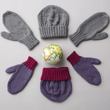 Download Free Pattern Details Canadiana Basic Hat And Mittens 2