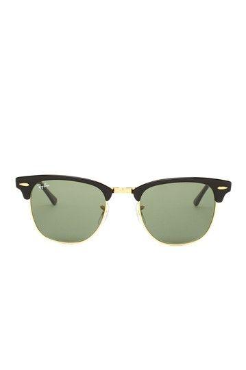 451363e55f1 Unisex Ebony Arista Metal Sunglasses by Ray-Ban Sunglasses on HauteLook