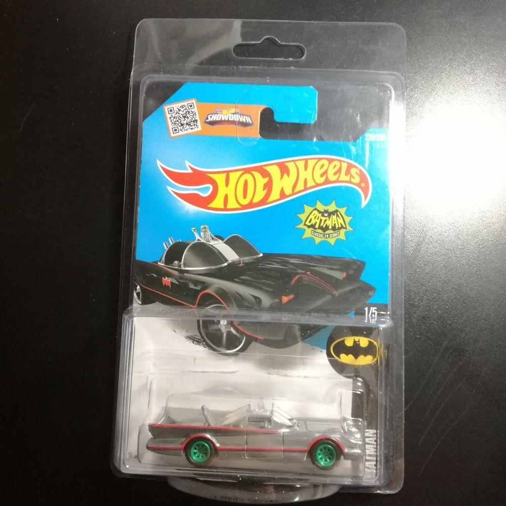 Custom Hot Wheels Classic Tv Batmobile Batman With Real Rider