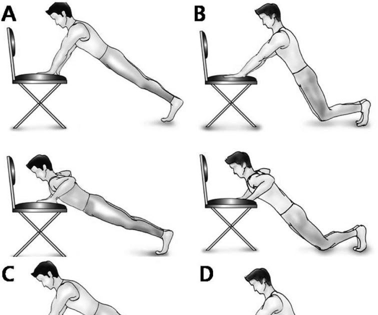 The Figures Showed The Four Types Of Push Up Plus Exercise Ilustraciones Imagenes Y Vectores De Stock Sobre Chair Push Chair Push U In 2020 Cool Chairs Push Up Chair