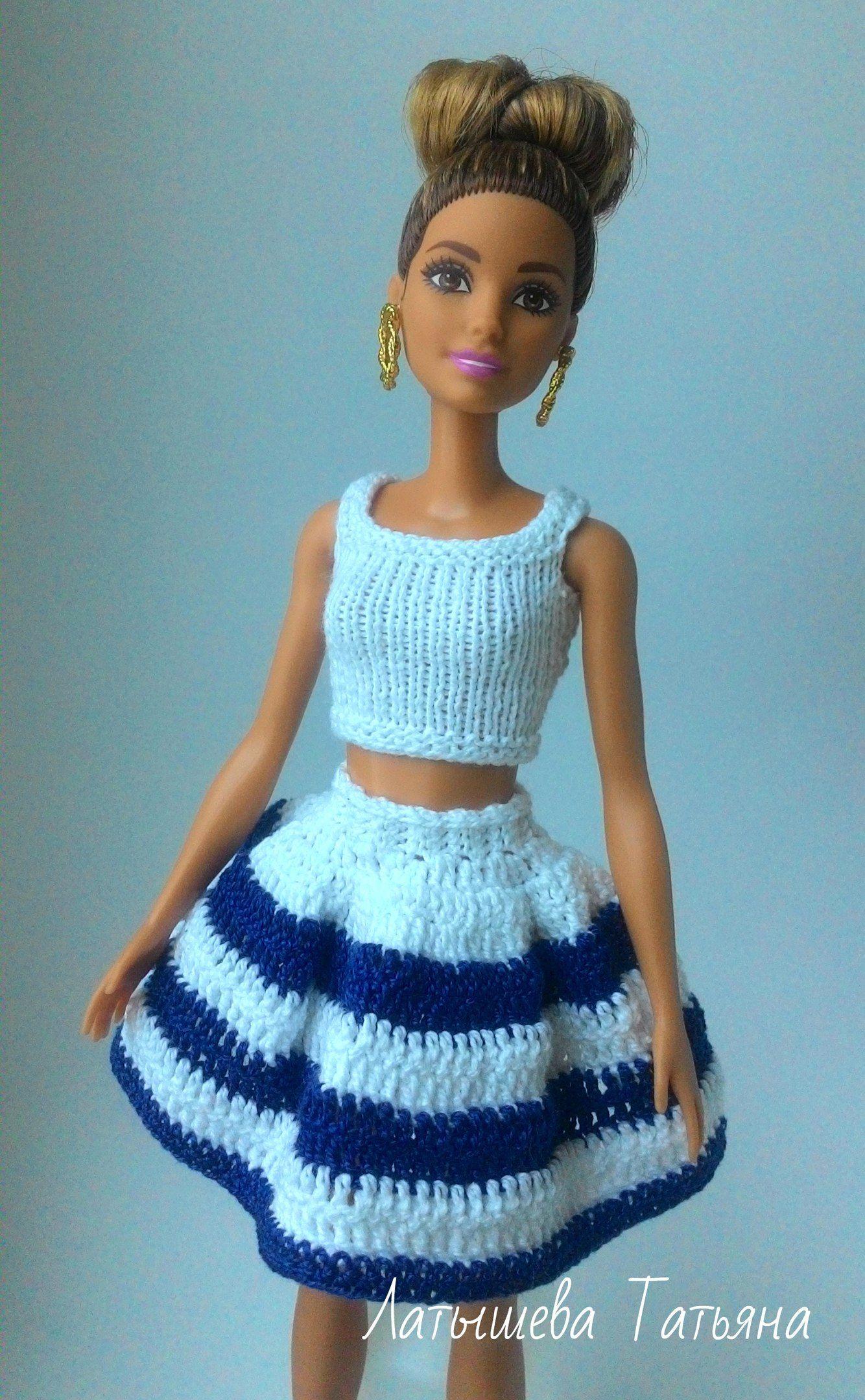 Вязание для Барби. – 71 photos   VK (с изображениями ...