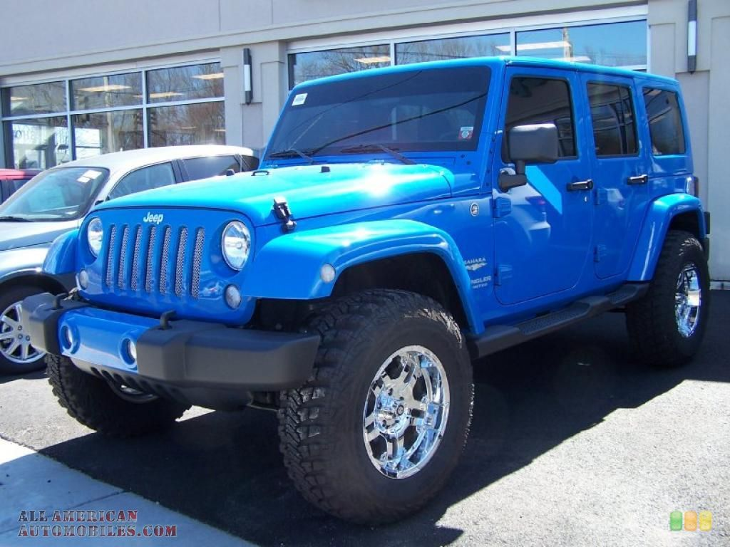 Jeep Wrangler 2011 cosmos Blue for Lesa!! She will be so
