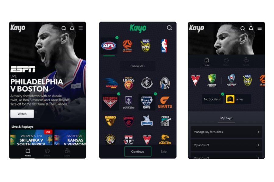 Australia's New 25/mth HD Sports Streaming Service Kayo