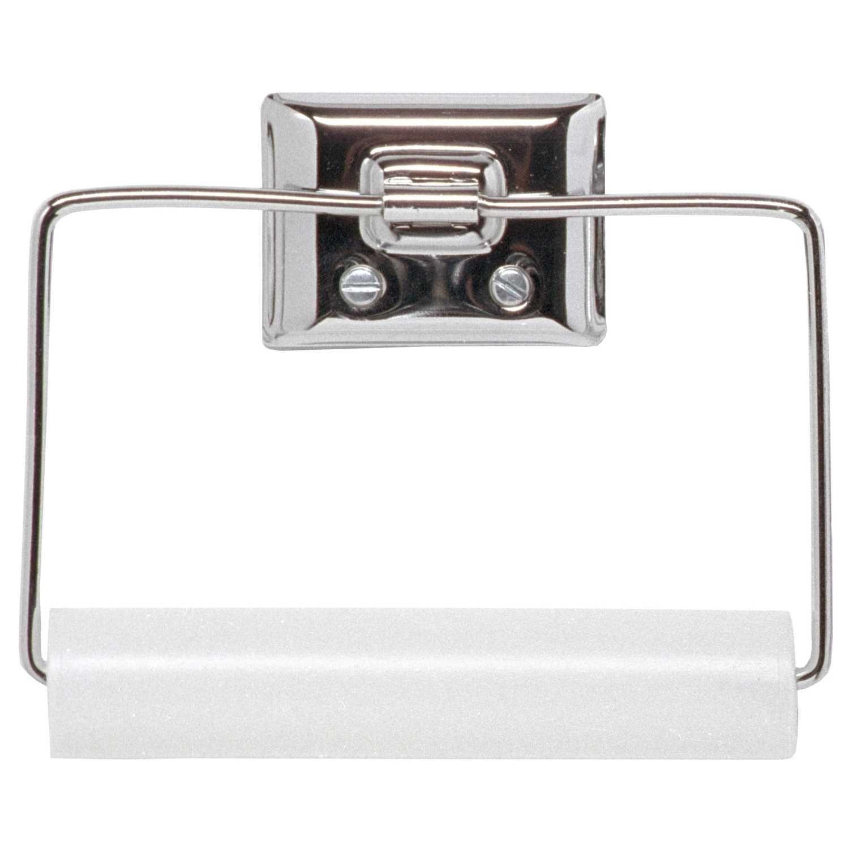 Decko Chrome Silver Toilet Paper Holder Wall Mounted Toilet Tissue Holders Paper Holder
