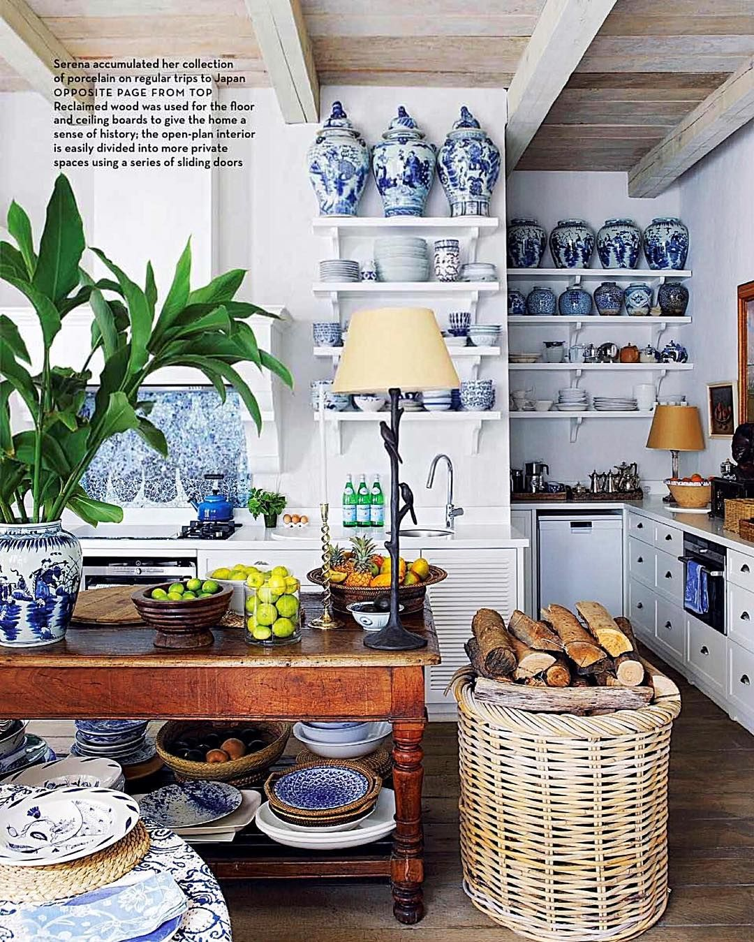 this is a lovely photo taken of my kitchen in cape town by the magazine conde nast on kitchen decor blue id=39862