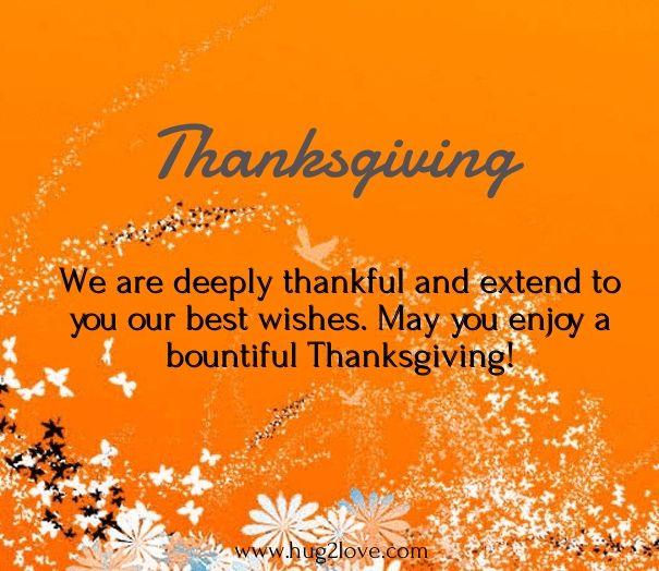 Thanksgiving wishes for boyfriend