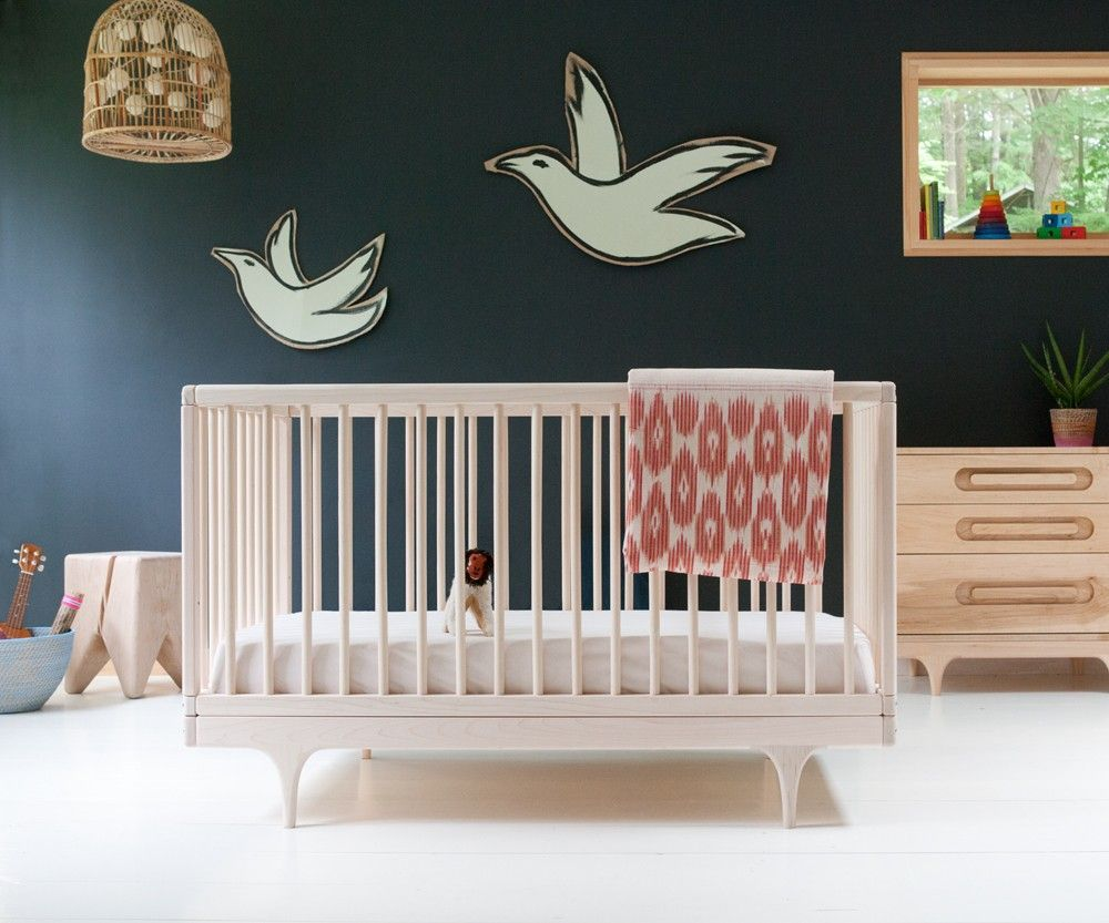 Caravan Crib From Kalon Studios Converted For Toddler