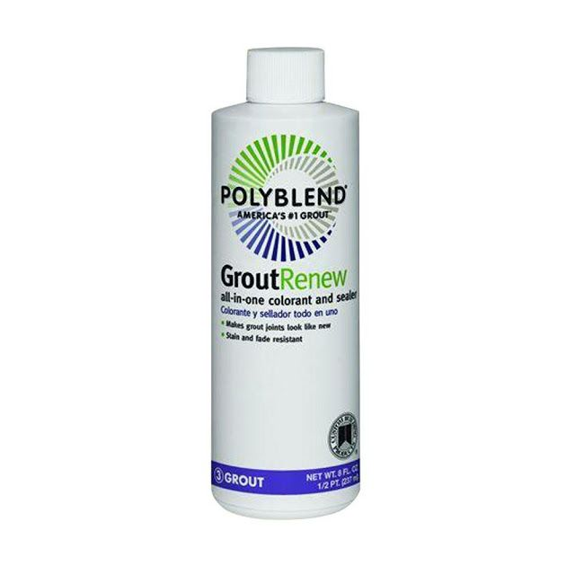 How To Fix The Wrong Grout Color Grout Renew Grout Cleaner Polyblend Grout Renew
