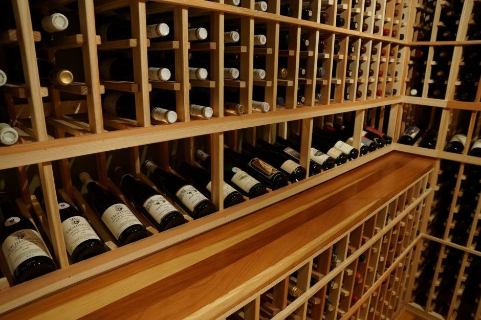 Custom Wine Cellars California Wine Geek u2013 Final Wood Finish Close Up. These wine racks & Custom Wine Cellars California Wine Geek u2013 Final Wood Finish Close ...