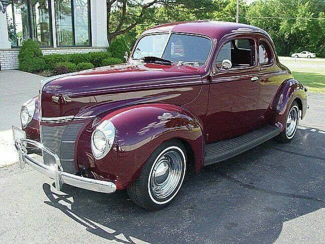 Ford Deluxe Coupe 2 Door 1940 Ford Classic Cars 1940 Ford Classic Cars