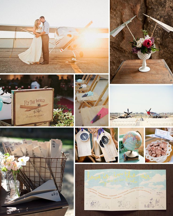Airplane Wedding Ideas Future Jordan