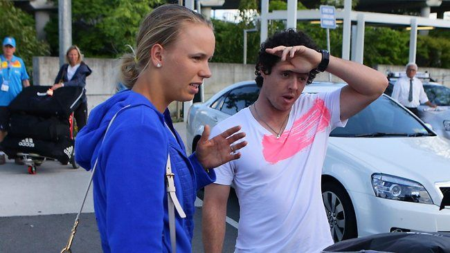 Rumours Are Swirling That Caroline Wozniacki And Rory Mcilroy Are Engaged After The Danish Tennis Star Was Spotted Wearing A My Rory Mcilroy Tennis Stars Rory