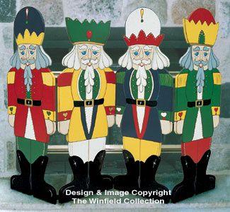 Nutcracker Fireplace Screen Pattern | crafts | Pinterest | Christmas ...