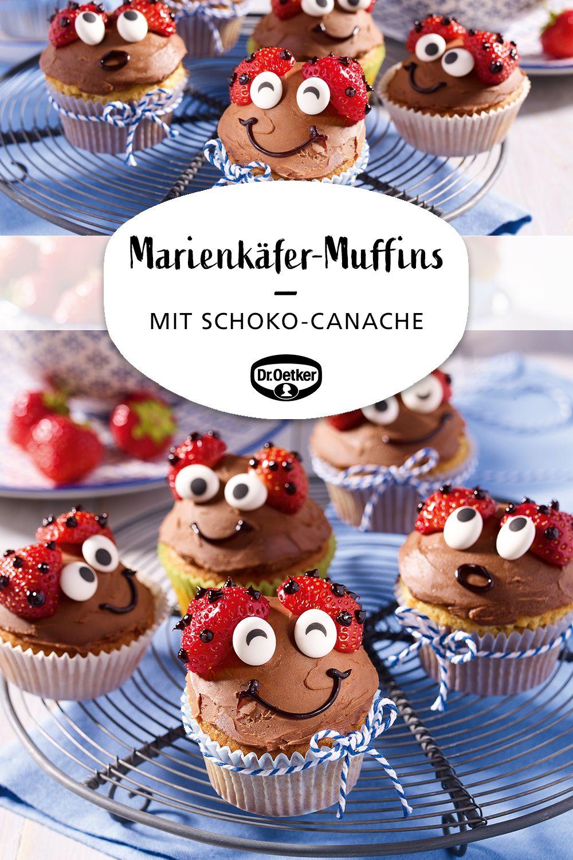 Marienkäfer-Muffins #savourycake