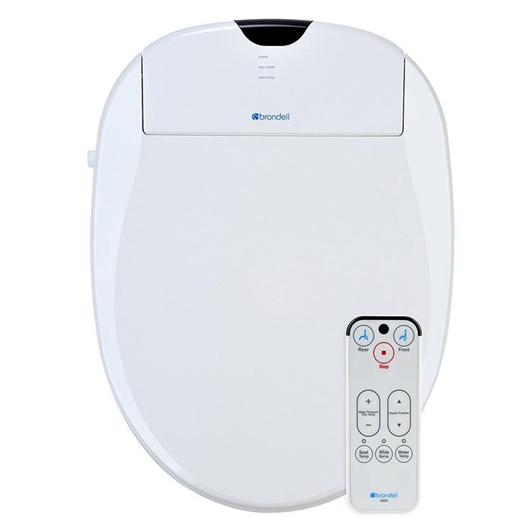 Brondell Bidet S900EW Swash 900 Advanced Elongated Toilet