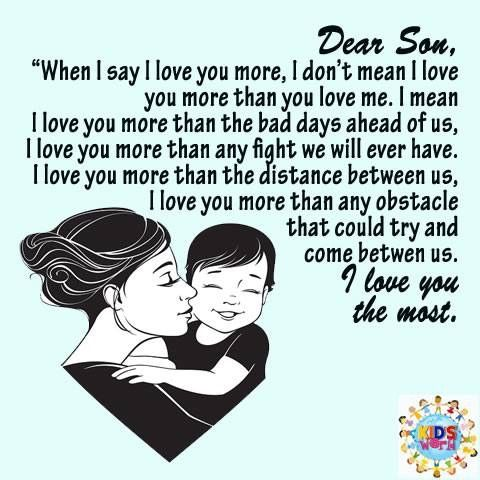Pin By Alexis Collins On Momma And Her Boys Love You More Love You More Than Say I Love You