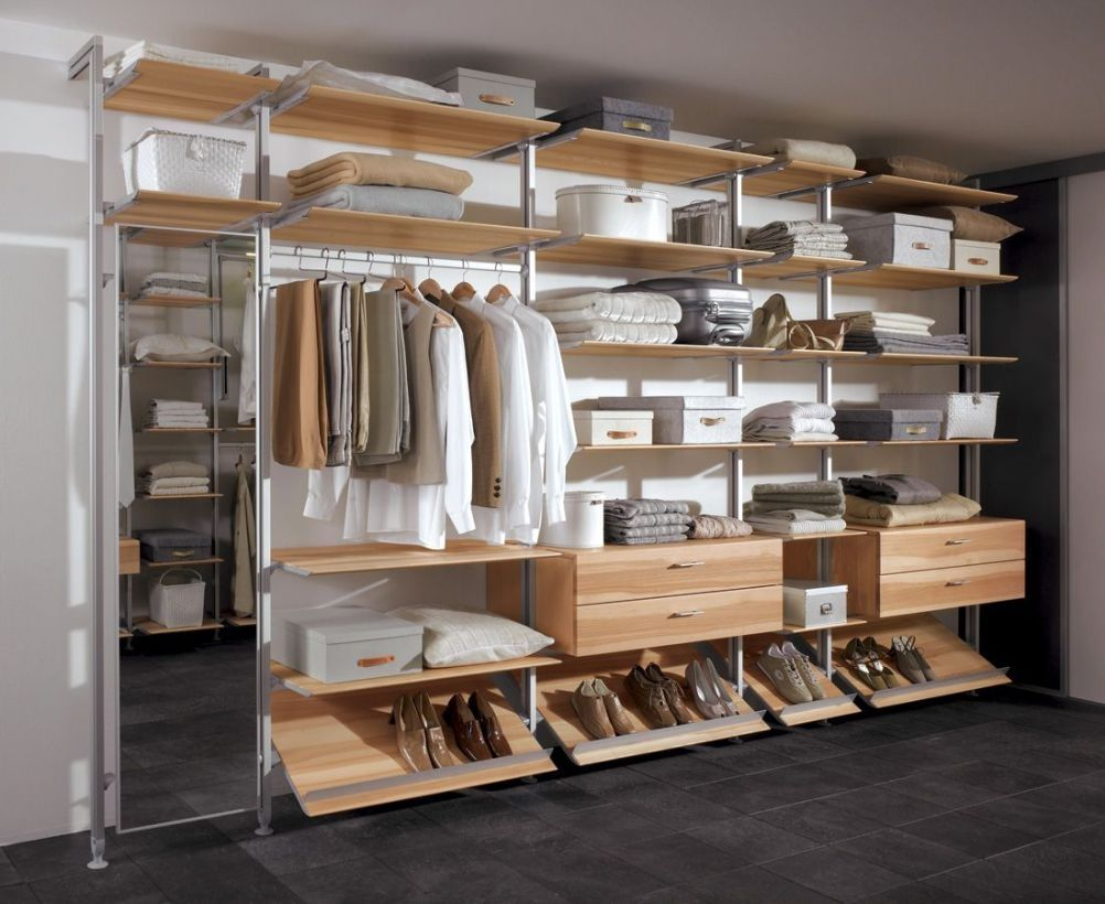52 Wardrobe Designs You Can Try To Store All Your Clothes Homiku Com Móveis De Alvenaria Para Quarto Armários Abertos Organização Do Closet