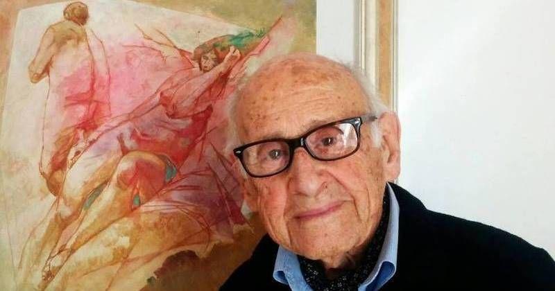 Sin importar su edad, el italiano Giorgio Michetti se subió a la nueva ola de la educación digital con videos en donde habla sobre técnicas para dibujar e historia del arte.