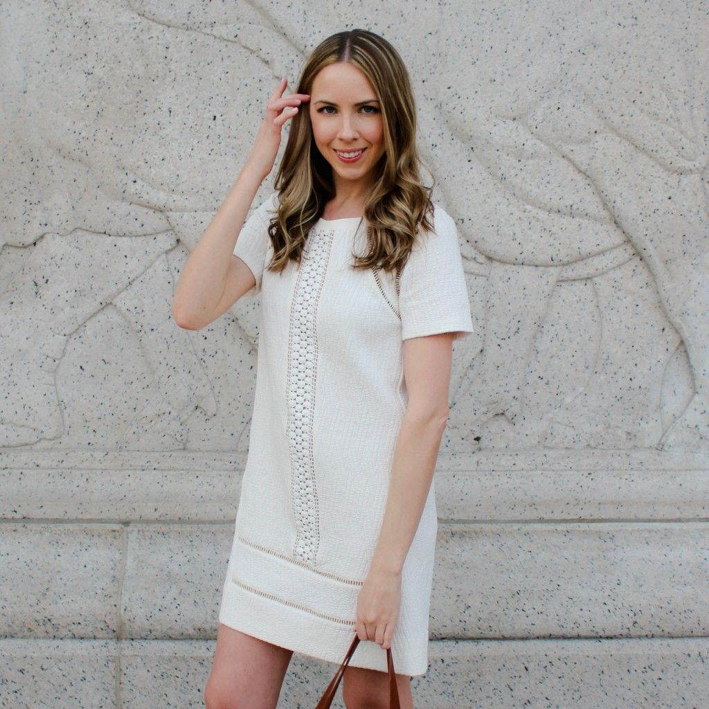Marc By Jacobs Lwd Little White Dress Casuallyglam Marcjacobs