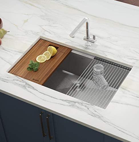 Kraus Khu100 28 Kitchen Sink 28 Inch Stainless Steel Undermount Kitchen Sinks Stainless Steel Kitchen Sink Sink