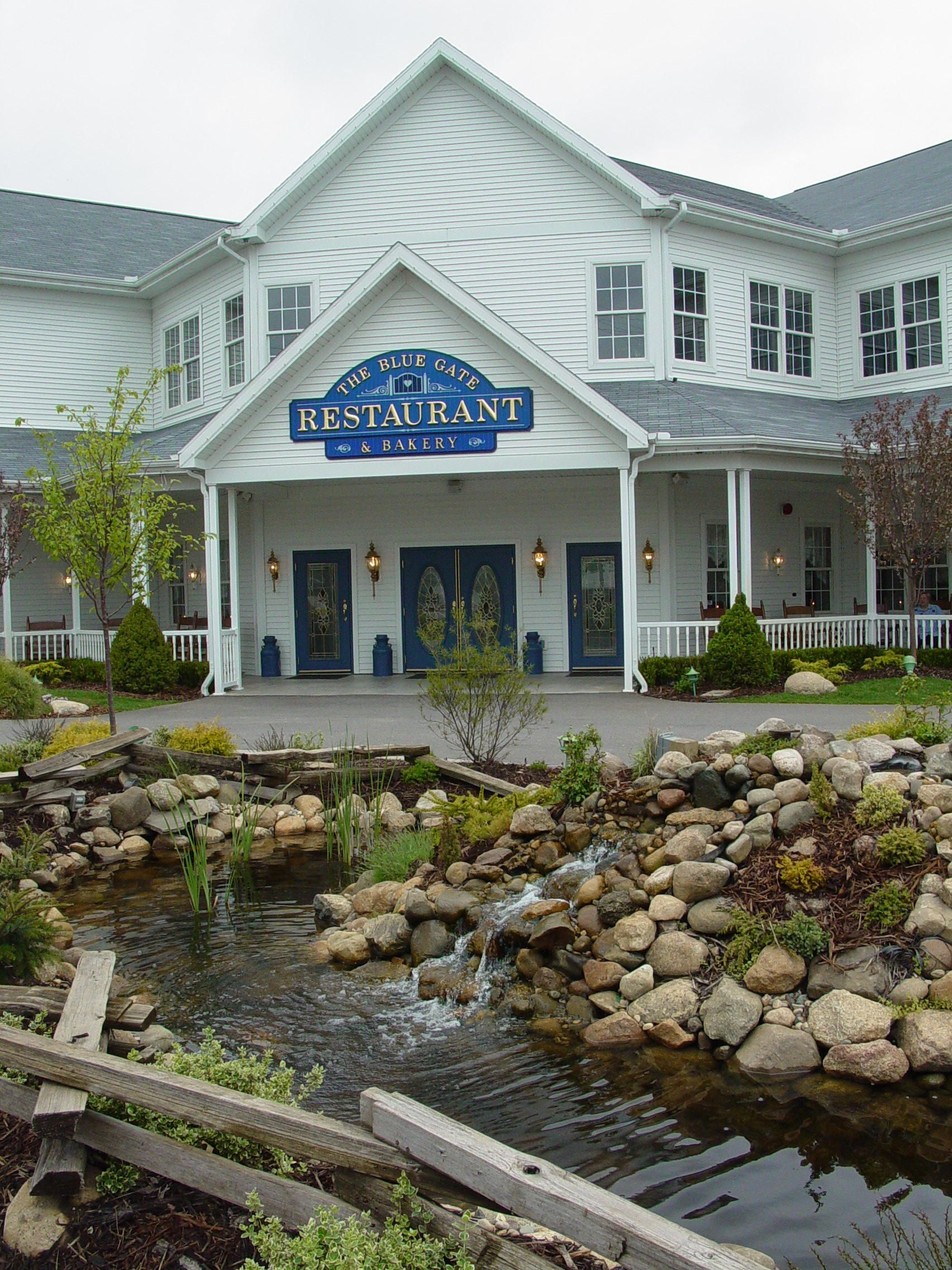 The Blue Gate Restaurant At Shipshewana Indiana Photo By June