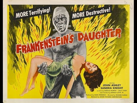 Frankenstein's Daughter (1958) • Horror • Sci Fi • FREE FULL MOVIE - YouTube