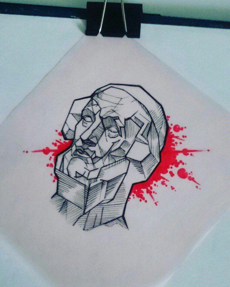 Эскизы татуировок \\ графика \\ трэш-полька \\ античное \\ Тату Эскизы \\ Tattoo ideas \\ Graphics \\ Sketch \\ Drawing