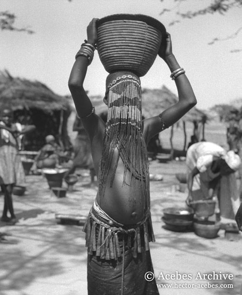 26-A11-076-10_crop | Black and white face, Tribal women, Women