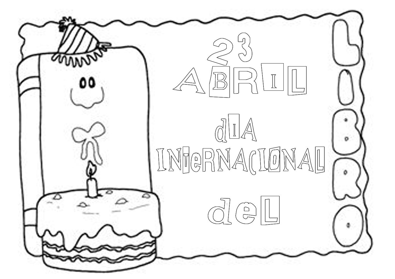 DIA DEL LIBRO 6 | dibuixos llibres | Pinterest | Día de, Libros y ...