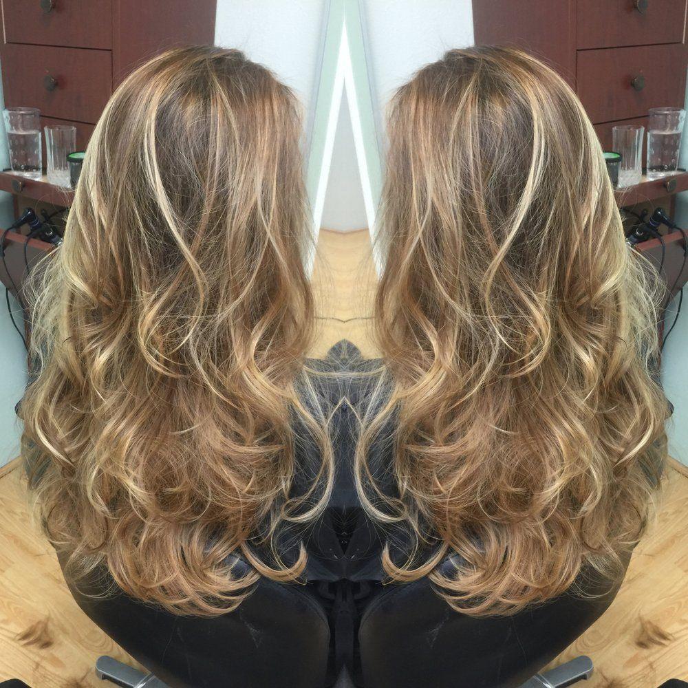 Emily Cain - Costa Mesa, CA, United States. Dark Warm Blonde Base ...