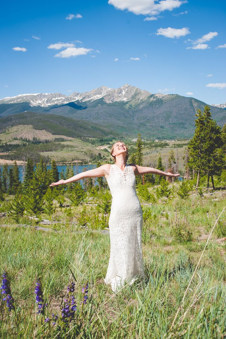 Summer Colorado Wedding Ceremony at Sapphire Point — Keeping Composure Photography | Colorado Rocky Mountain Wedding, Elopement, Family and Portrait Photography