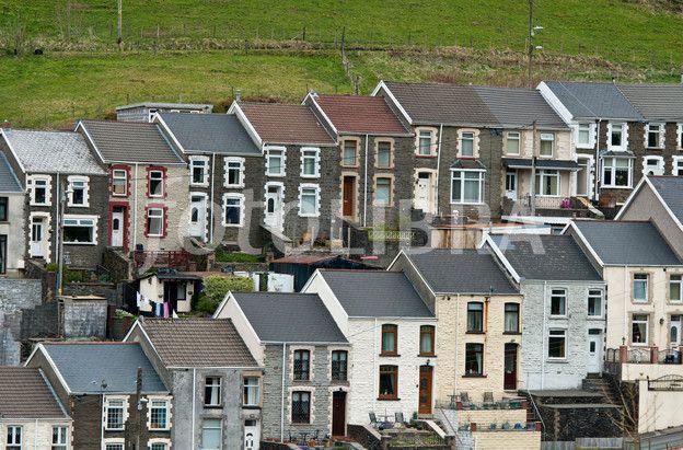 Terraced Houses Blaengwynfi Wales Terrace House Terrace House