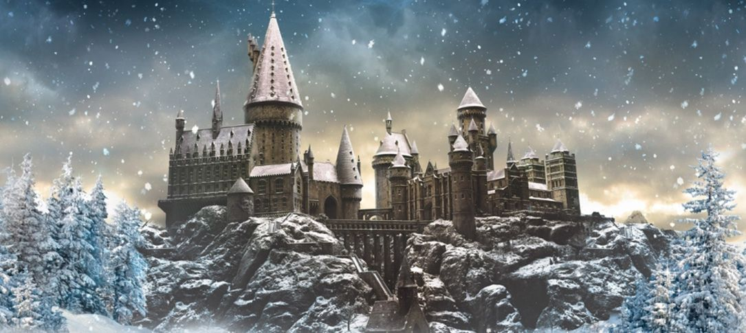 Harry Potter Christmas At Hogwarts