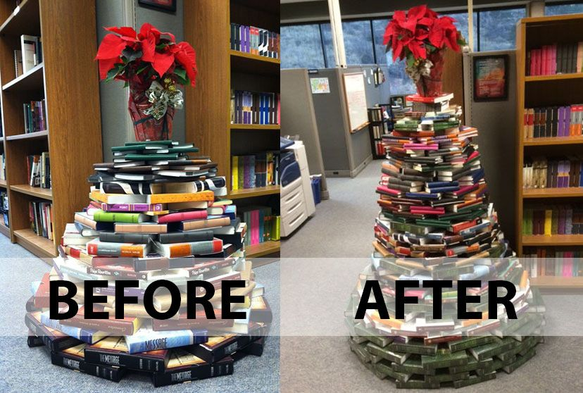 The NavPress Christmas tree keeps on growing! We're ready for Christmas!