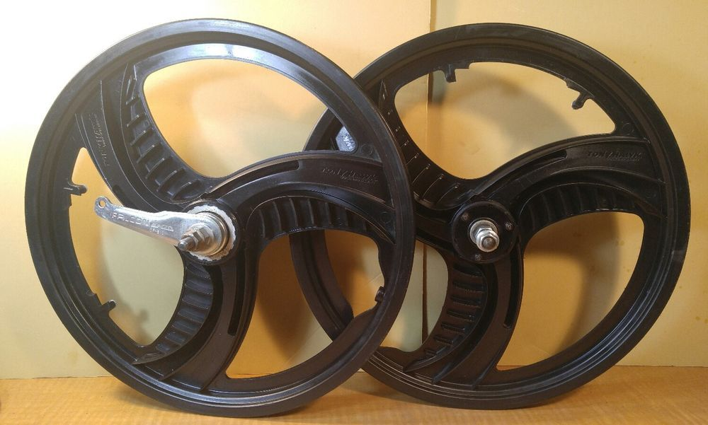 "16"" Tony Hawk FREESTYLE BMX MAG Wheels Tri-Spoke Front & Rear Wheel BIKE  #TonyHawk"