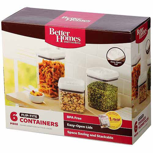 bfe967483b06e8fd4ec968c82eba6db7 - Better Homes And Gardens 18.6 Cup Flip Tite Rectangle Container
