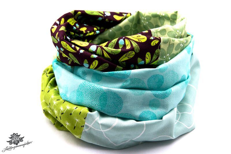 Loop Loops von Lieblingsmanufaktur: Farbenfrohe Loop Schals, Tücher und mehr auf DaWanda.com