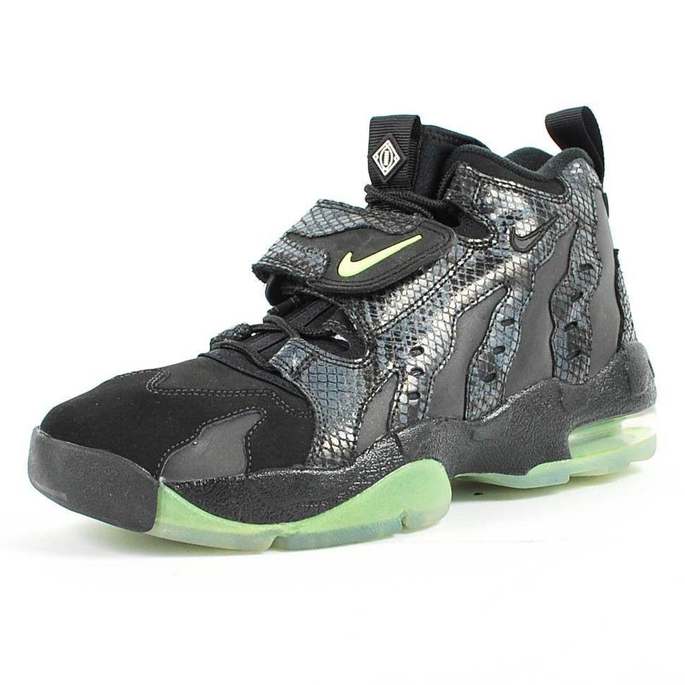 check out 91963 79fd5 Nike Air DT Max 96 Premium Deion Sanders Black Snake Green Glow 616781-001  Sz 10 nike  primetime  nfl  neondeion  truth  instagood  niketalk  love   kicks ...