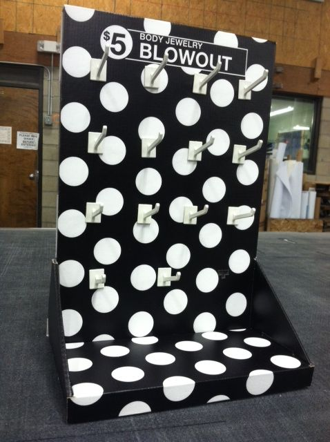 Check out this display! This display was designed, printed, routed and assembled in house.