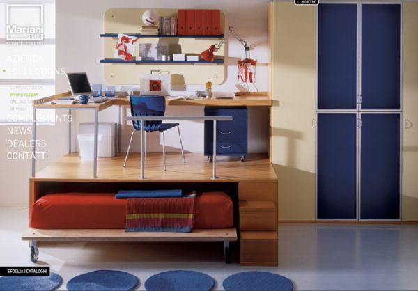 Awesome Three Creative Solutions For Furnishing The Children And Teensu0027 Rooms Amazing Design