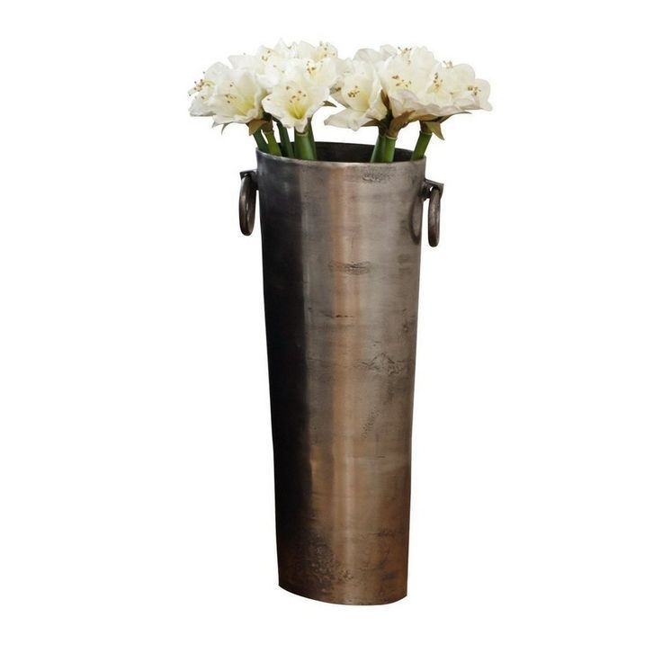 Loberon Vase »Shanice« für 195,95€. Aus Aluminiumguss, In stattlicher XXL-G... -  Loberon Vase »Shanice« für 195,95€. Aus Aluminiumguss, In stattlicher XXL-Größe, Besonders edel paarweise im Entrée, Auch als Übertopf geeignet bei OTTO  - #bodenvasedekorieren #bodenvasedekorieren Loberon Vase »Shanice« für 195,95€. Aus Aluminiumguss, In stattlicher XXL-G... -  Loberon Vase »Shanice« für 195,95€. Aus Aluminiumguss, In stattlicher XXL-Größe, Besonders edel paarweise im Ent #bodenvasedekorieren