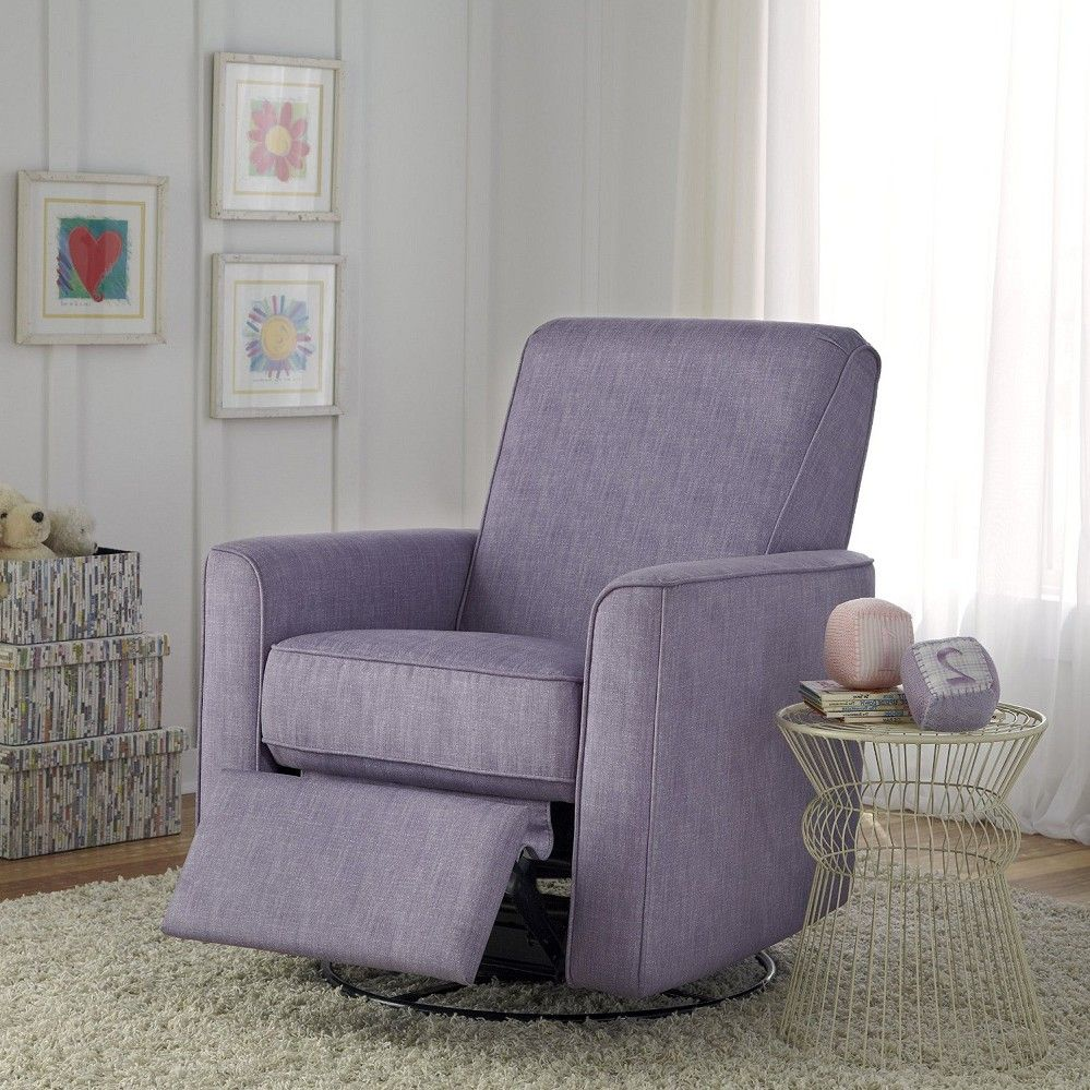 Attractive Small Bedroom Recliner U2013 PRI Harmony Swivel Glider Recliner, Dove Swivel  Recliner, Swivel Glider