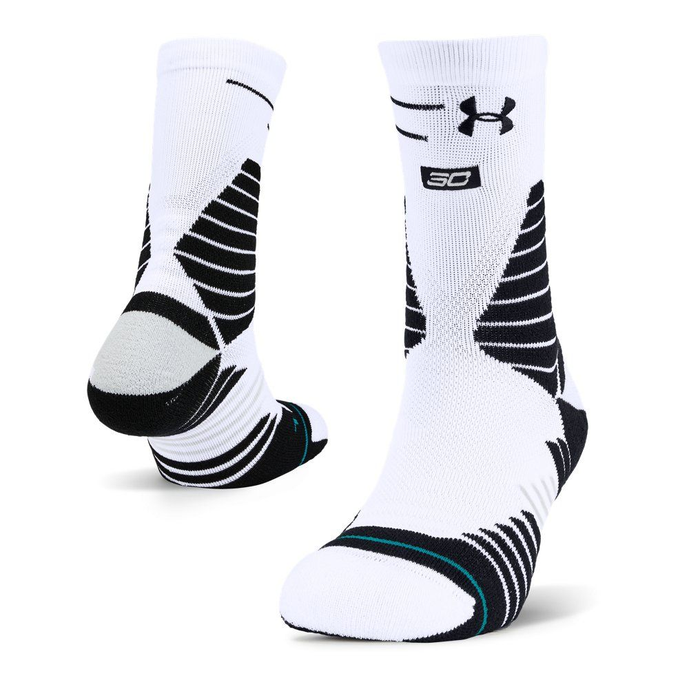 fe5168553 Under Armour Men's UA x Stance Curry 6 Mid Crew Socks in 2019 ...