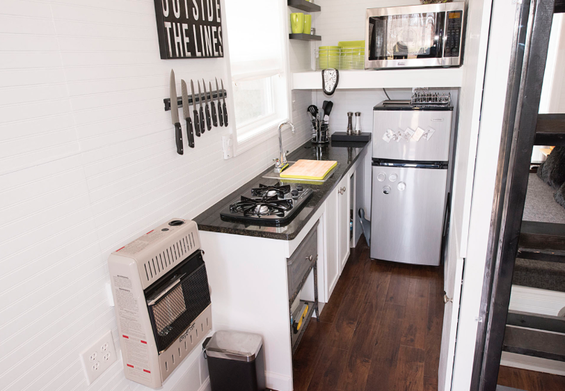 Amazing Tiny House Kitchen Design Ideas for You | Tiny houses ...
