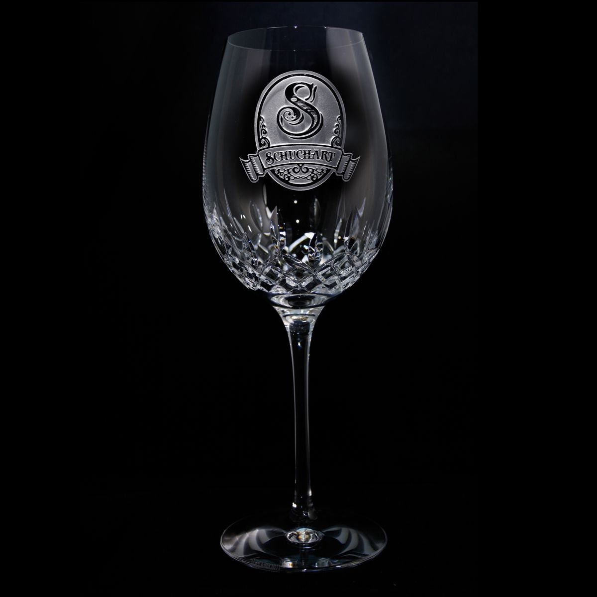 Engraved waterford crystal wine glass waterford crystal and wine - Wedgwood crystal wine glasses ...