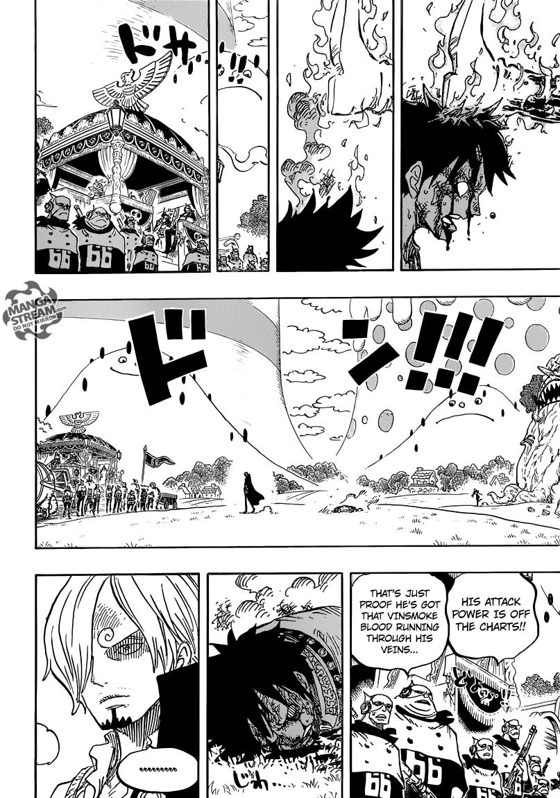One Piece 844 - Page 14 - Manga Stream